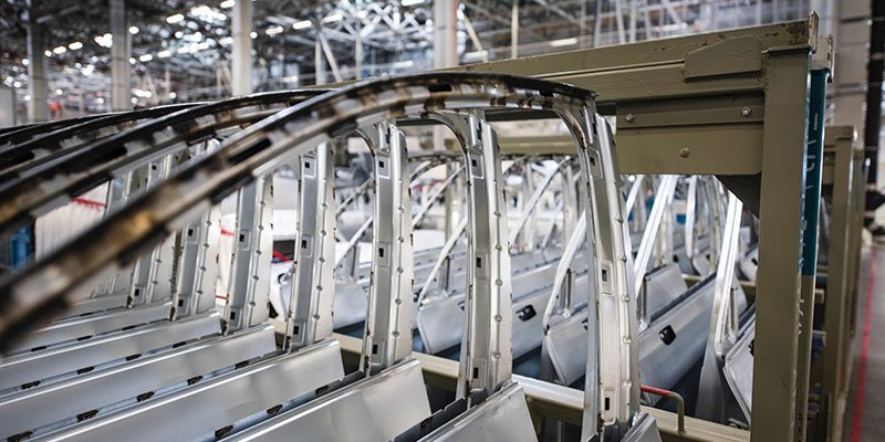 automotive metal door production