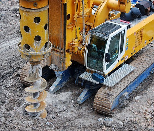geotechnical, mining and piling industry