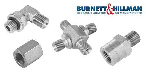 Hydraulic Adaptors Steel, Burnett & Hillman