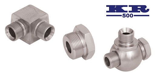 Hydraulic Adaptors Steel, KR500