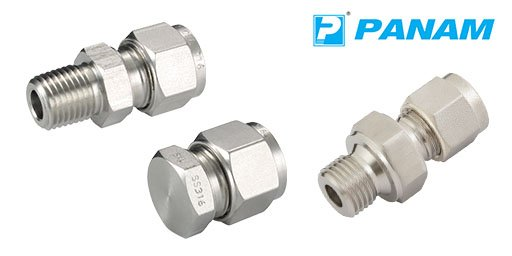Hydraulic 316 Stainless Steel Twin Ferrule Imperial Compression Fittings, Panam