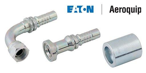 Spiral 4-6W Skive Fittings, Eaton