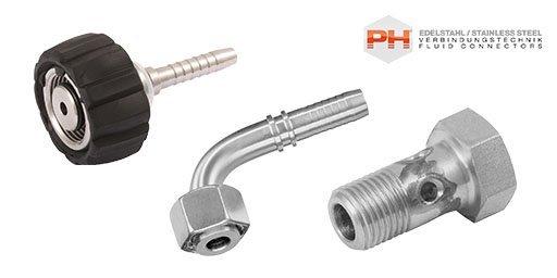 Hydraulic Inserts and Ferrules, PH Industrie