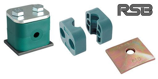 Hydraulic Tube Clamps, RSB