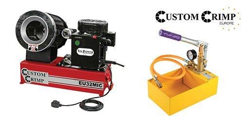 Hydraulic Workshop Machinery, Custom Crimp