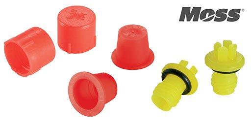 Plastic Parts Plastic Caps & Plugs, Moss