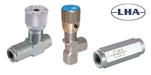 Hydraulic Control Valves, LHA