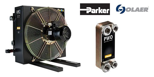 Hydraulic Oil Coolers, Parker Olaer